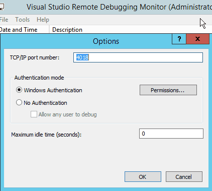 Remote debugging ASP  NET in Visual Studio 2013 | Christian